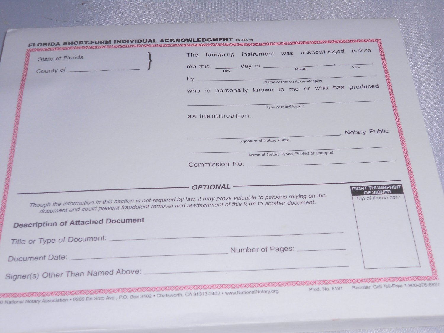 Acknowledgment / Jurat | Notary Sources